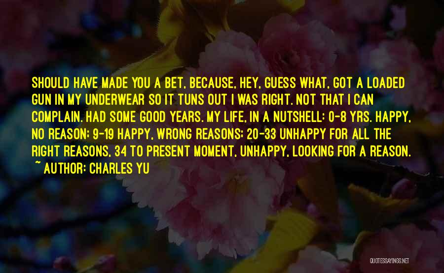 0-8-4 Quotes By Charles Yu