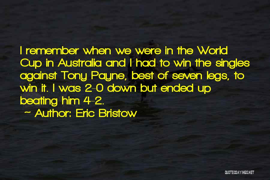 0-8-4 Quotes By Eric Bristow