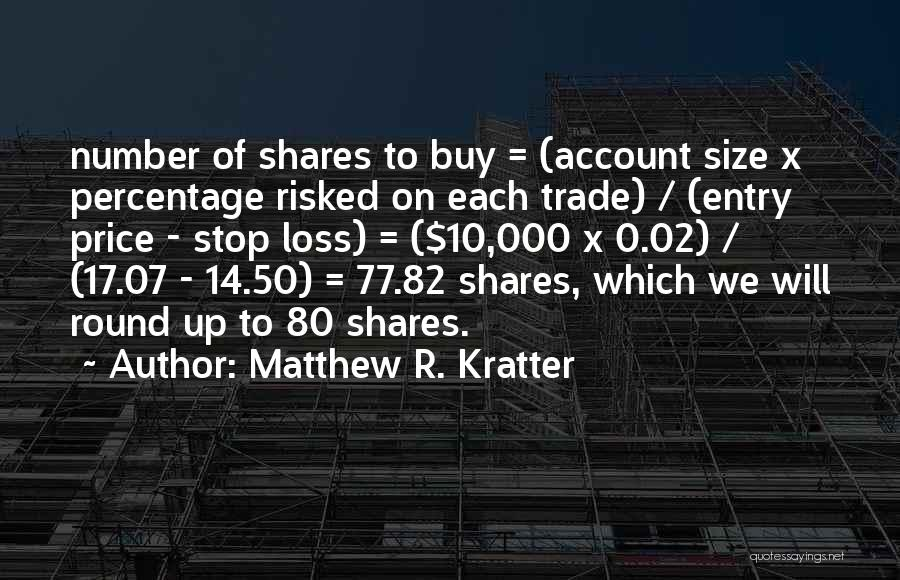 0-8-4 Quotes By Matthew R. Kratter