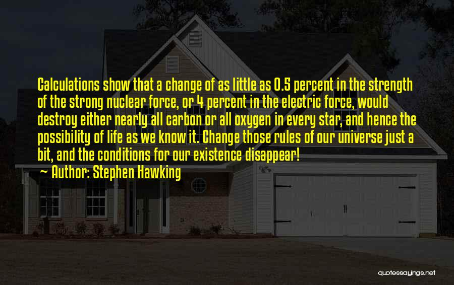 0-8-4 Quotes By Stephen Hawking