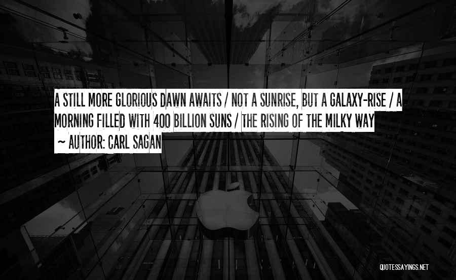 1 Billion Rising Quotes By Carl Sagan