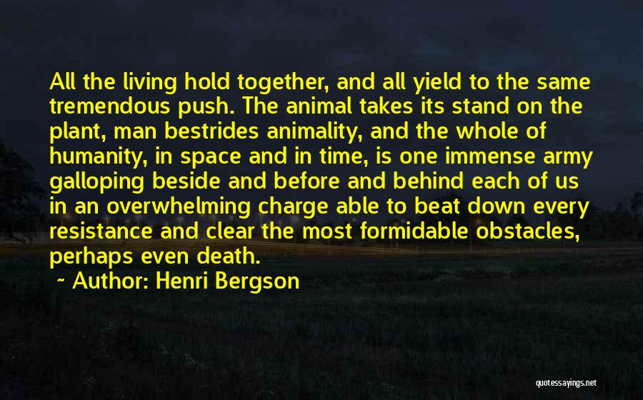 1 Man Army Quotes By Henri Bergson
