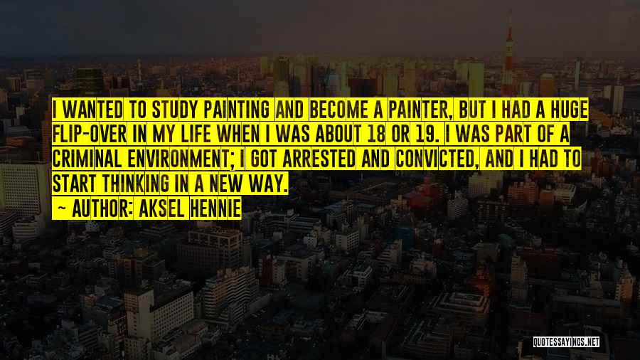 18 And Over Quotes By Aksel Hennie