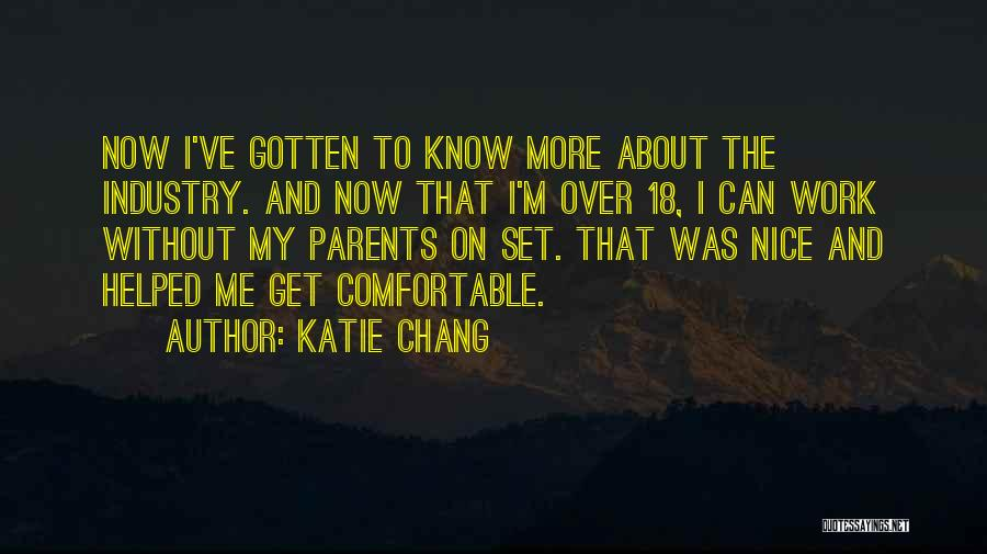 18 And Over Quotes By Katie Chang