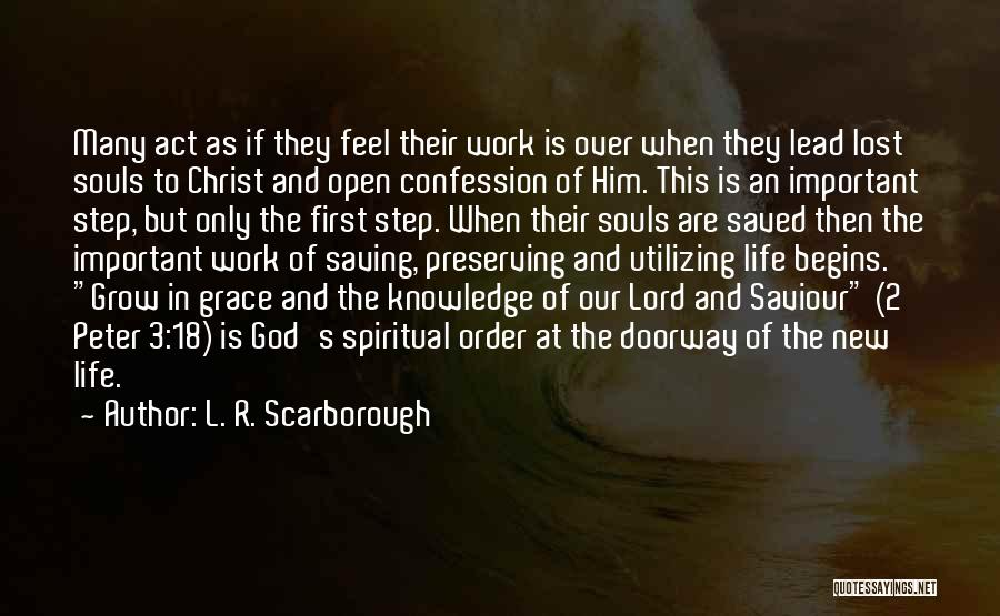 18 And Over Quotes By L. R. Scarborough