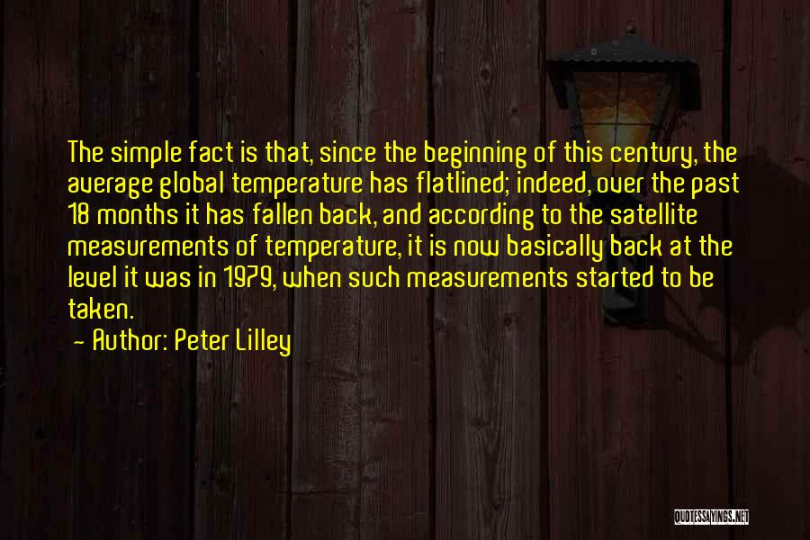 18 And Over Quotes By Peter Lilley