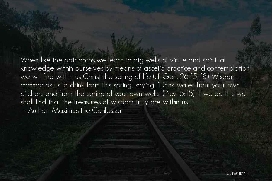 18 Treasures Quotes By Maximus The Confessor