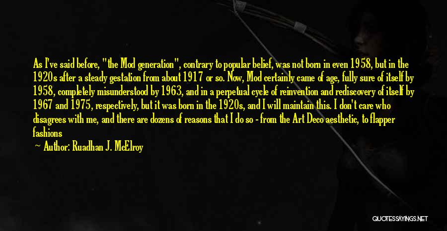 1920s Jazz Quotes By Ruadhan J. McElroy