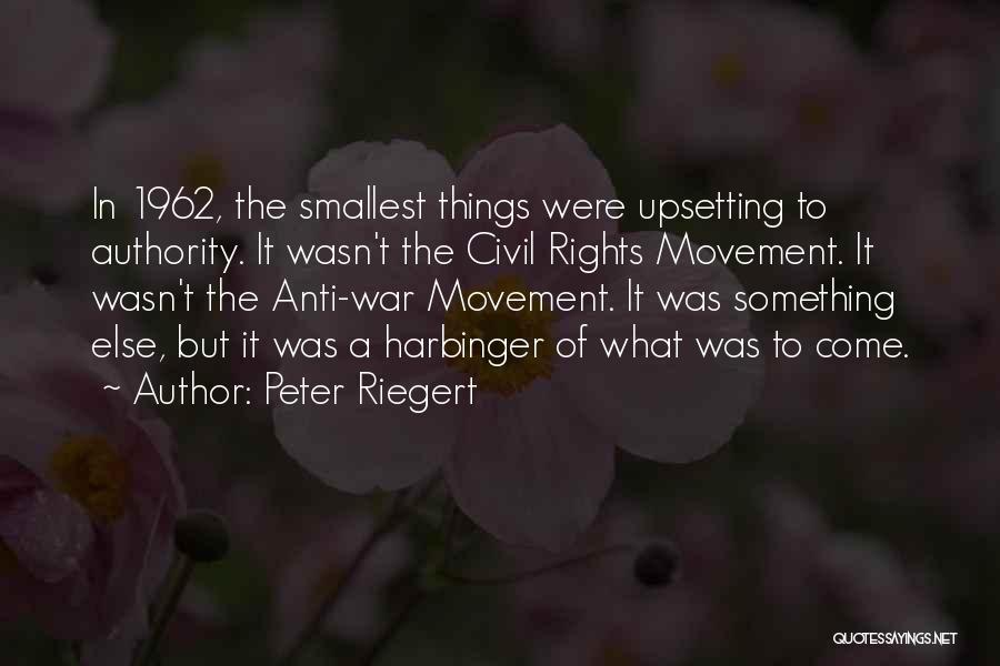 1962 War Quotes By Peter Riegert