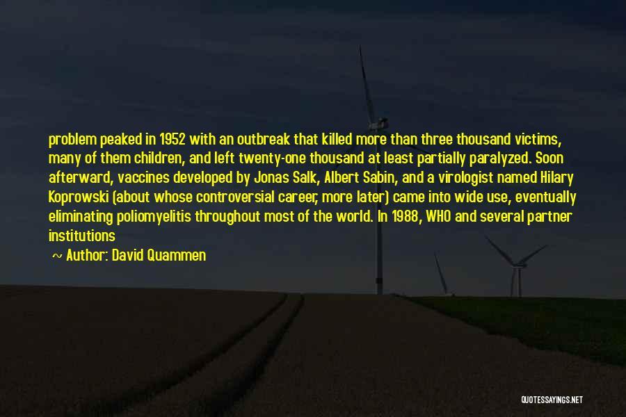 1988 Quotes By David Quammen