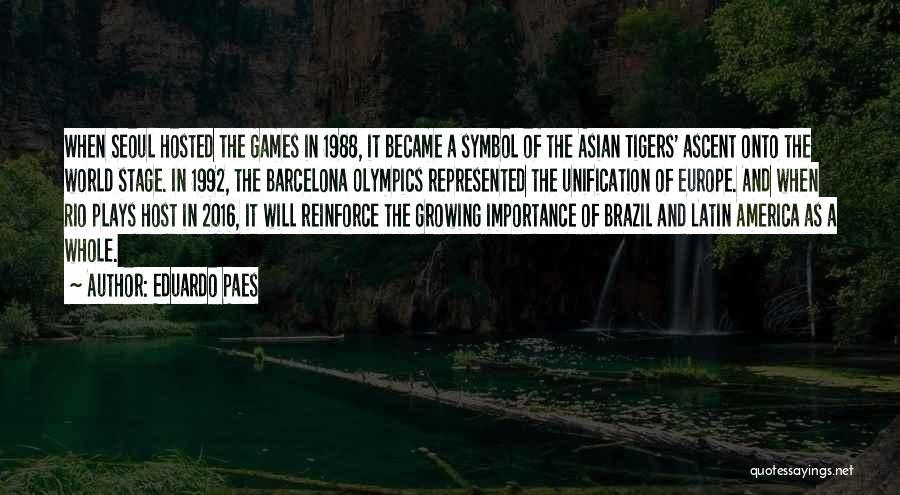 1988 Quotes By Eduardo Paes