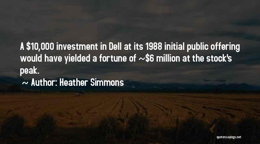 1988 Quotes By Heather Simmons