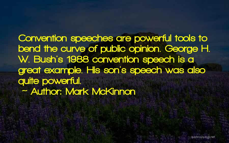 1988 Quotes By Mark McKinnon
