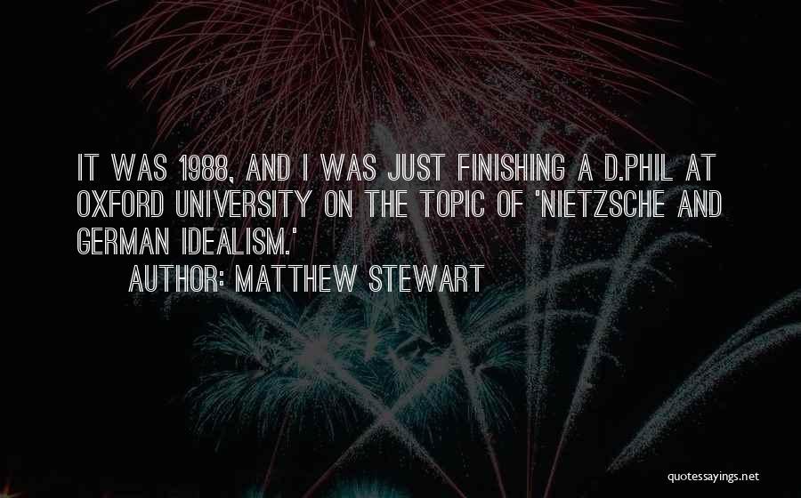 1988 Quotes By Matthew Stewart