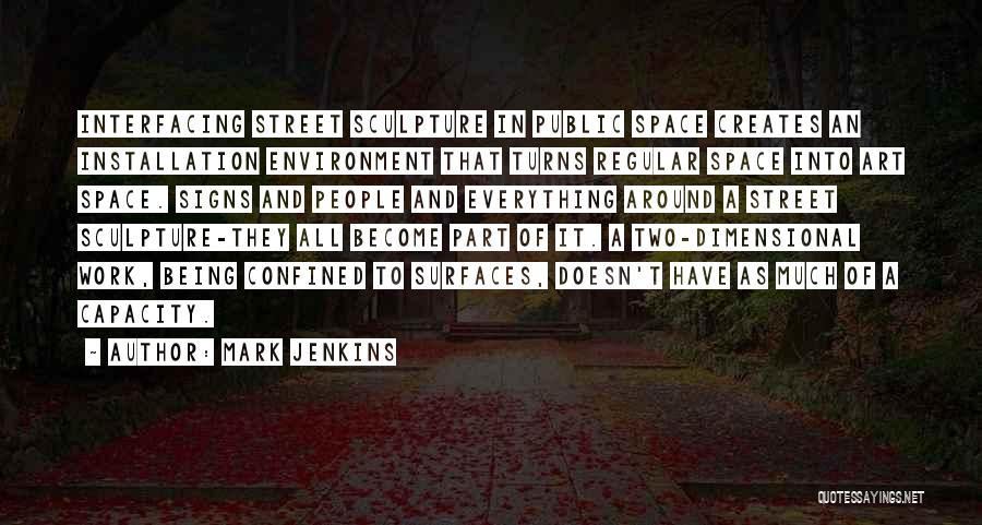 2 Dimensional Quotes By Mark Jenkins