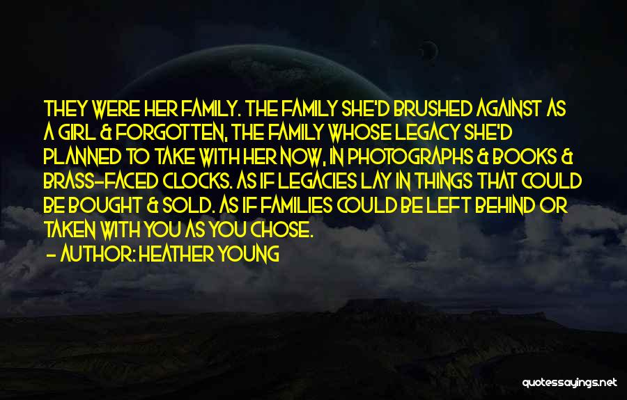 2 Faced Family Quotes By Heather Young