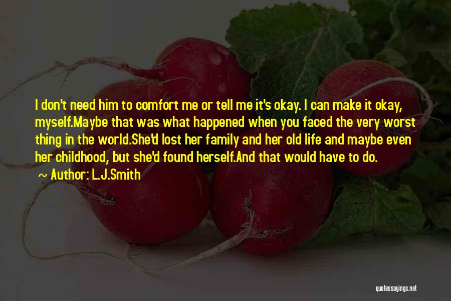 2 Faced Family Quotes By L.J.Smith