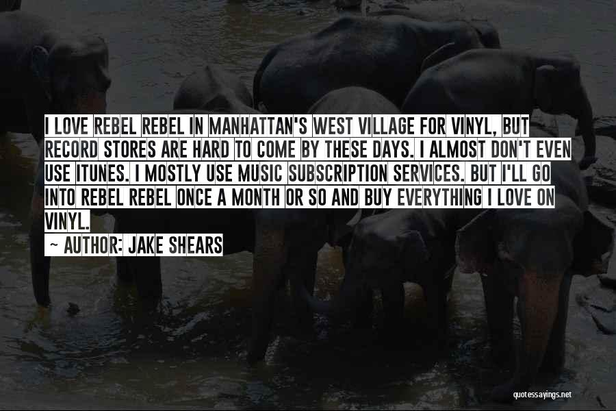 2 Month Love Quotes By Jake Shears