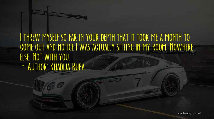 2 Month Love Quotes By Khadija Rupa