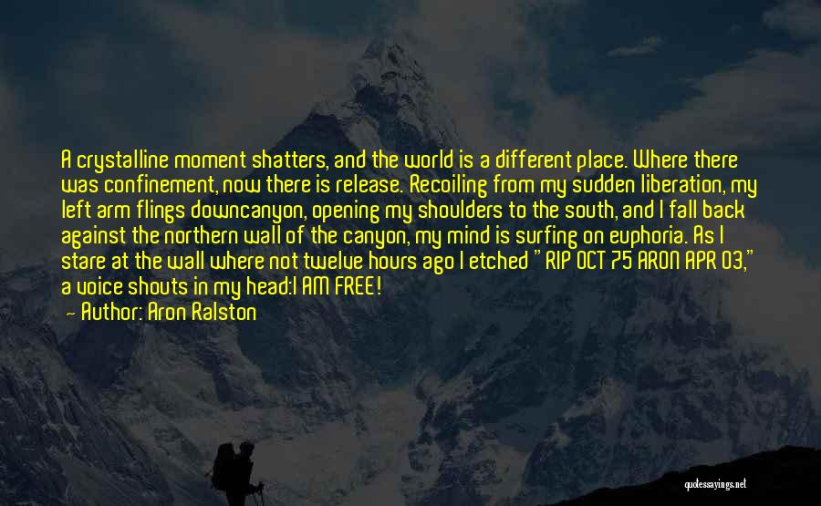 2 Oct Quotes By Aron Ralston