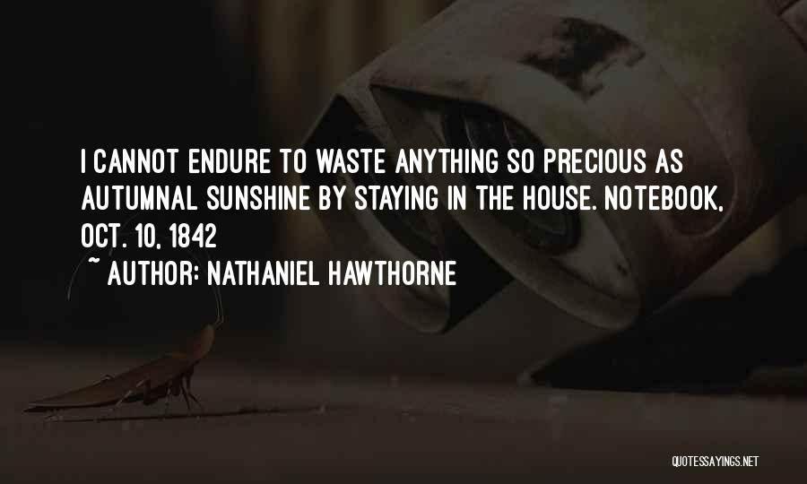 2 Oct Quotes By Nathaniel Hawthorne