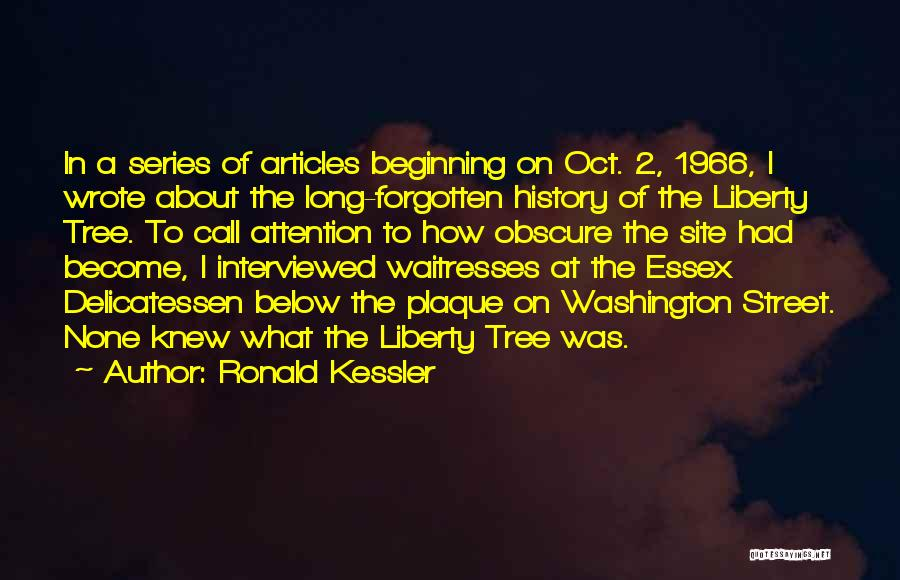 2 Oct Quotes By Ronald Kessler