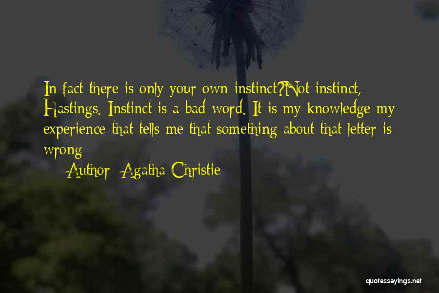 2 Or 3 Letter Quotes By Agatha Christie