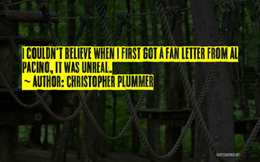 2 Or 3 Letter Quotes By Christopher Plummer