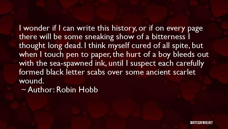 2 Or 3 Letter Quotes By Robin Hobb
