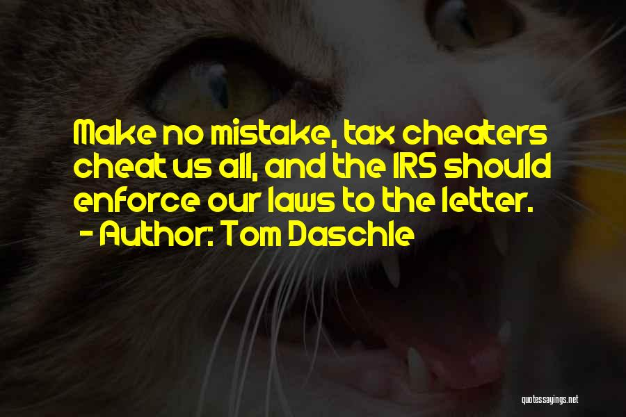 2 Or 3 Letter Quotes By Tom Daschle
