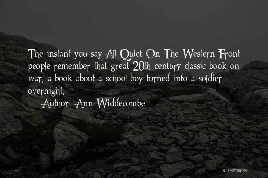 20th Century Quotes By Ann Widdecombe