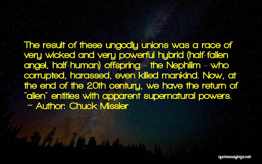20th Century Quotes By Chuck Missler