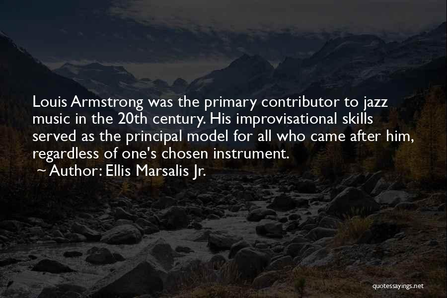 20th Century Quotes By Ellis Marsalis Jr.