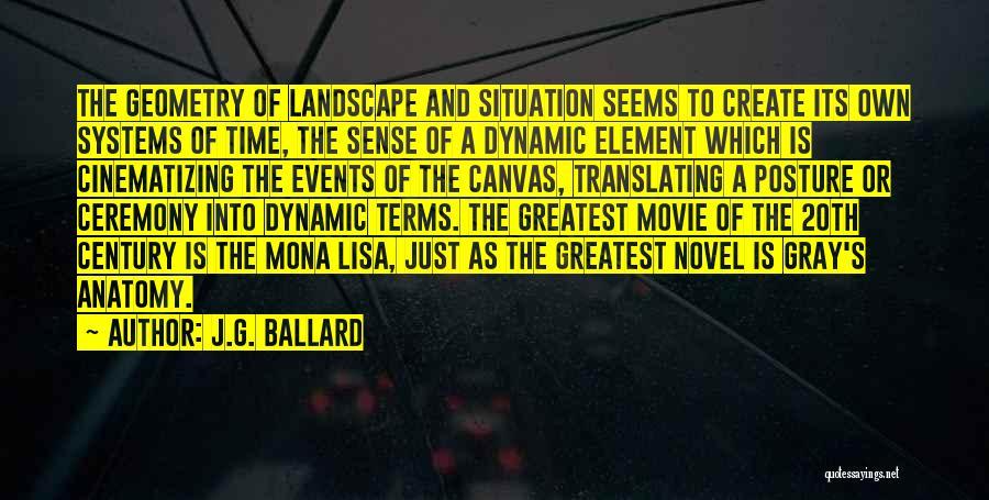 20th Century Quotes By J.G. Ballard