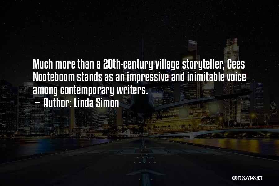20th Century Quotes By Linda Simon