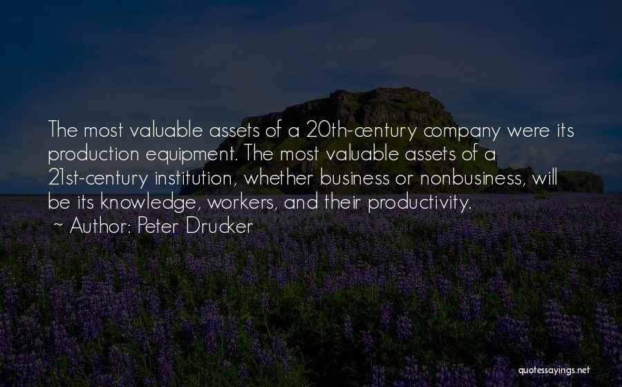 20th Century Quotes By Peter Drucker
