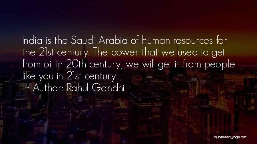 20th Century Quotes By Rahul Gandhi