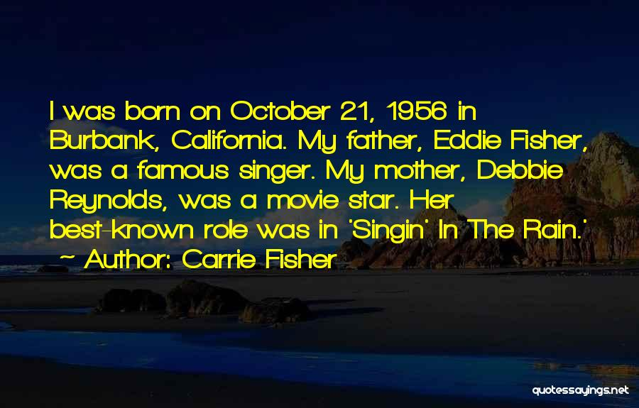 21 Best Movie Quotes By Carrie Fisher