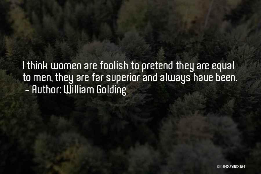 Women on william golding William Golding
