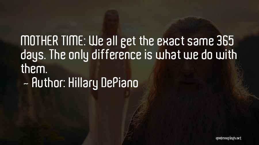 365 Days New Year Quotes By Hillary DePiano
