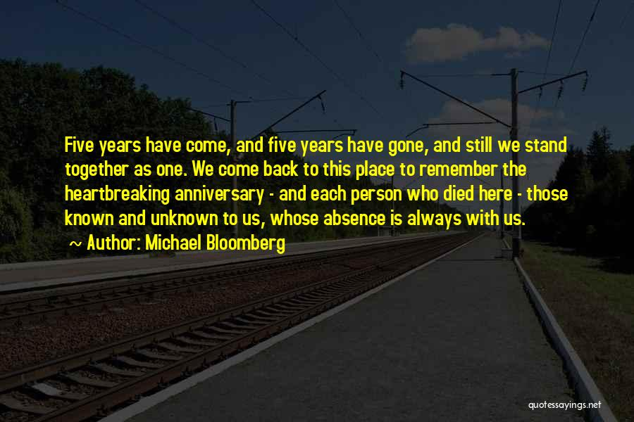 4 Years Anniversary Quotes By Michael Bloomberg