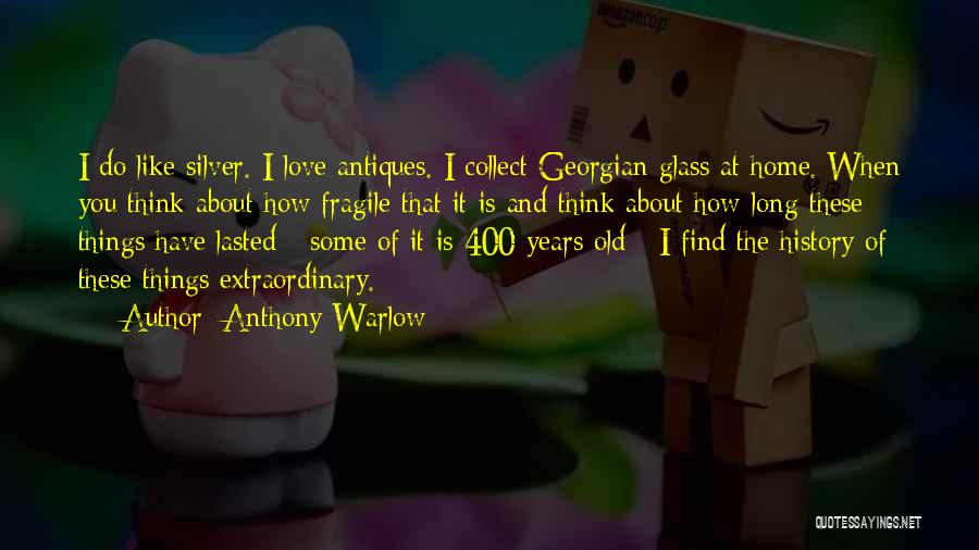 400 Love Quotes By Anthony Warlow