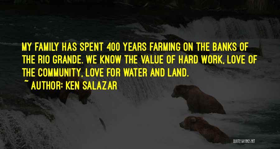 400 Love Quotes By Ken Salazar