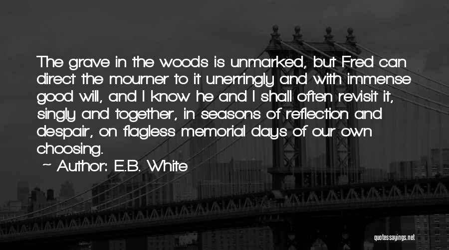 5 Days At Memorial Quotes By E.B. White