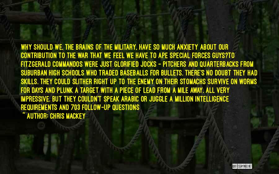 5 Days Of War Quotes By Chris Mackey