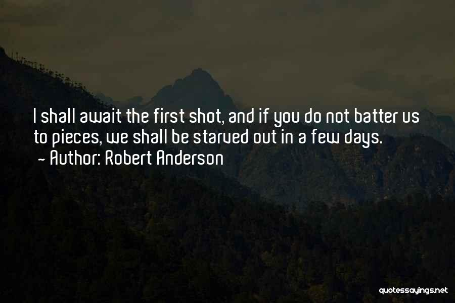 5 Days Of War Quotes By Robert Anderson