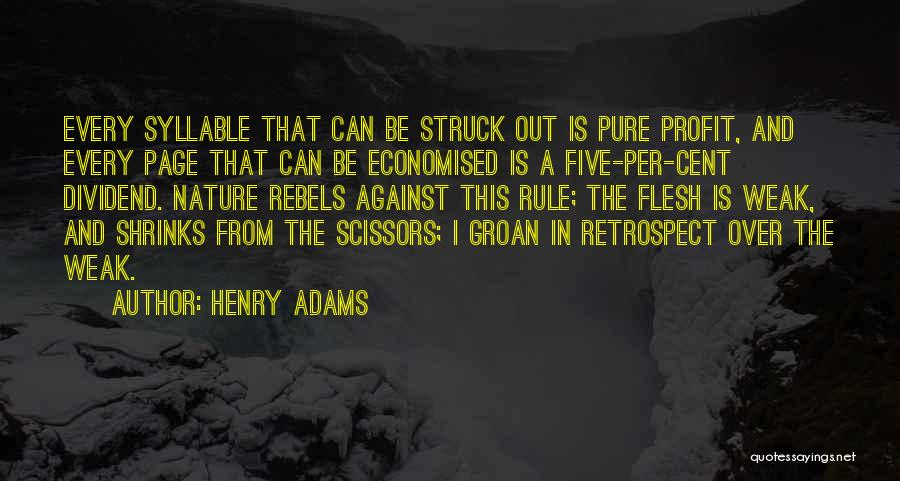 5 Syllable Quotes By Henry Adams