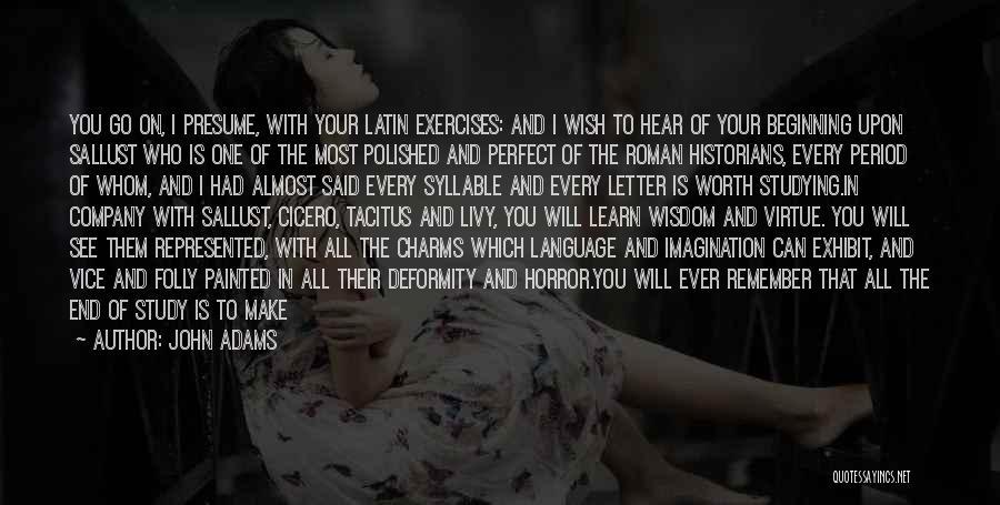 5 Syllable Quotes By John Adams