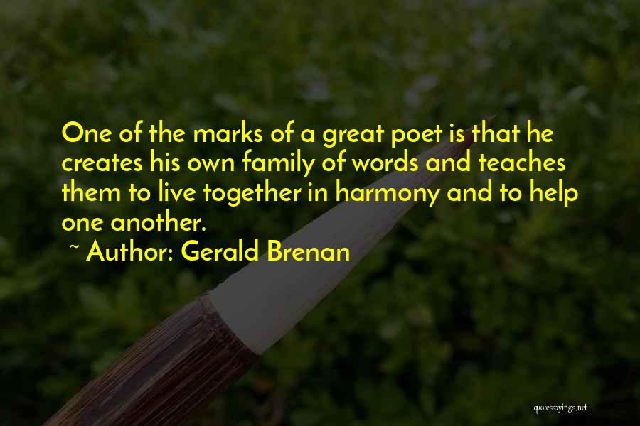 5 Words Less Quotes By Gerald Brenan