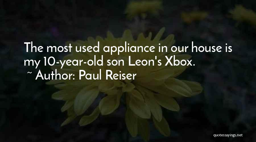 5 Year Old Son Quotes By Paul Reiser